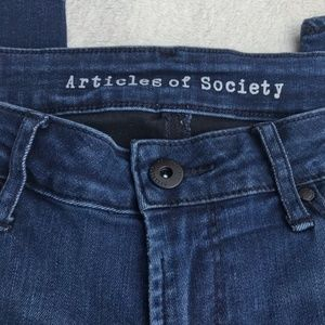 Articles of Society Skinny Jeans Size 28.